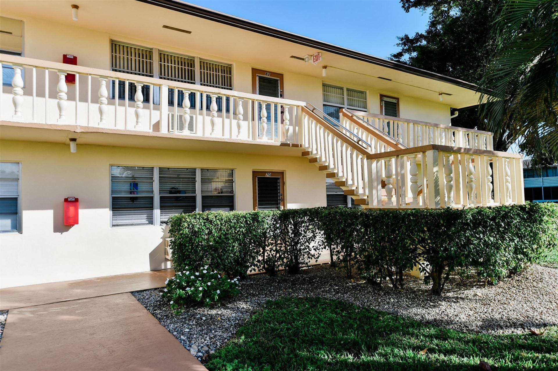 70 Dorchester #D, West Palm Beach, FL 33417 - MLS#: RX-10690954