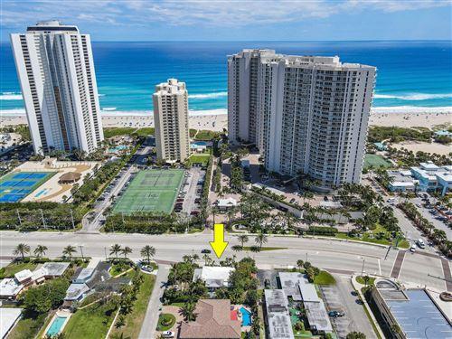 Photo of 2737 N Ocean Drive, Singer Island, FL 33404 (MLS # RX-10702955)
