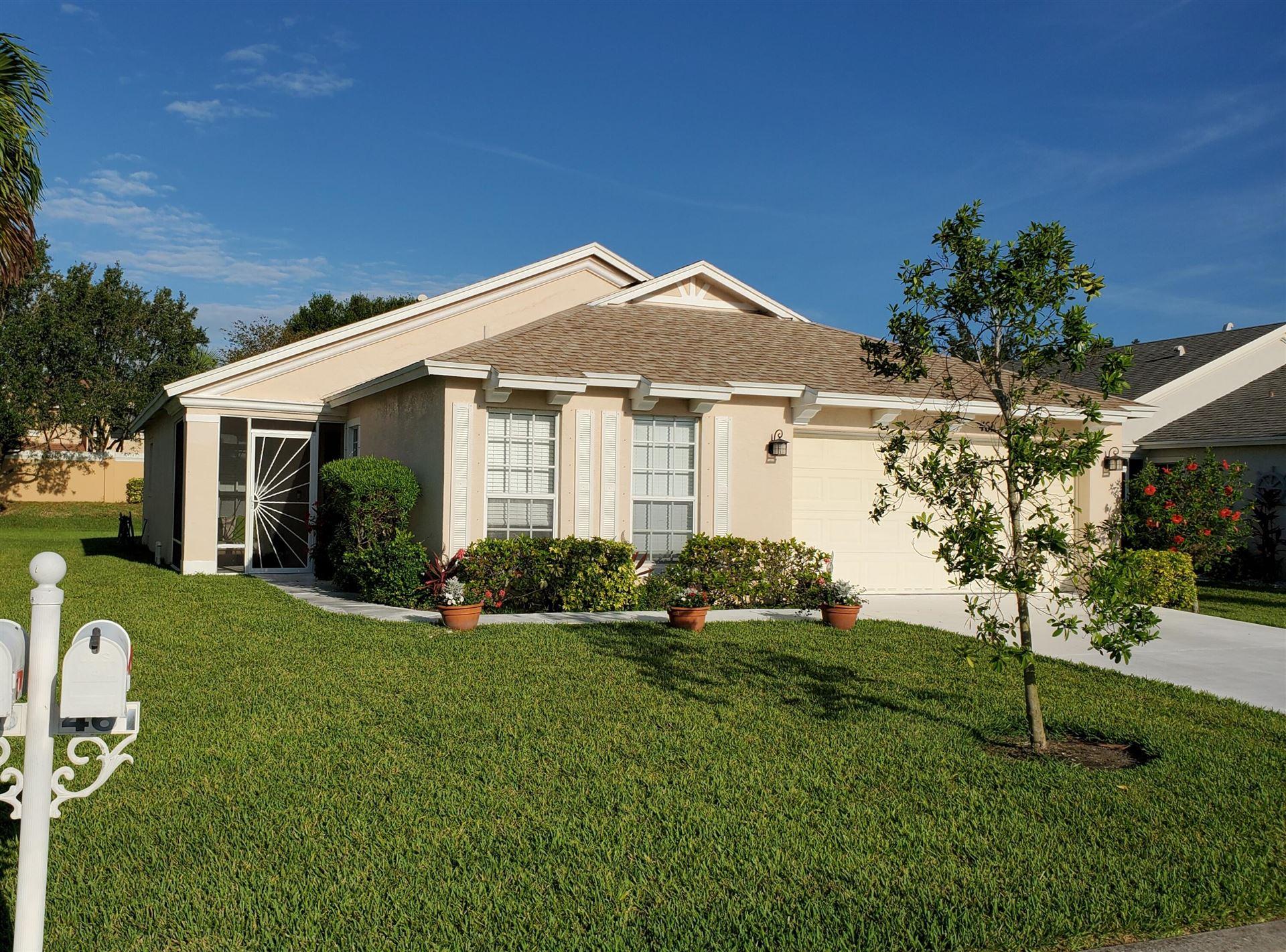 461 SW Talquin Lane, Port Saint Lucie, FL 34986 - MLS#: RX-10721955