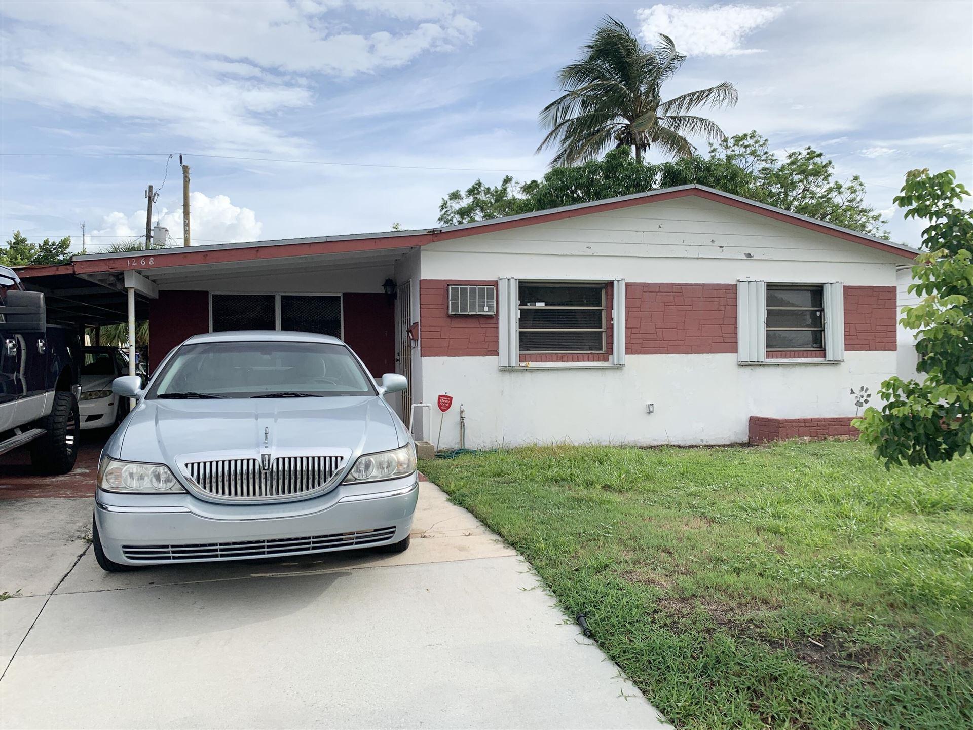 1268 W 36th Street, Riviera Beach, FL 33404 - MLS#: RX-10747955
