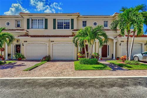 Photo of 504 Marbella Circle, North Palm Beach, FL 33403 (MLS # RX-10748956)