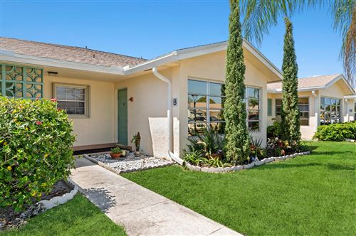 Photo of 5301 Lakefront Boulevard #B, Delray Beach, FL 33484 (MLS # RX-10708957)