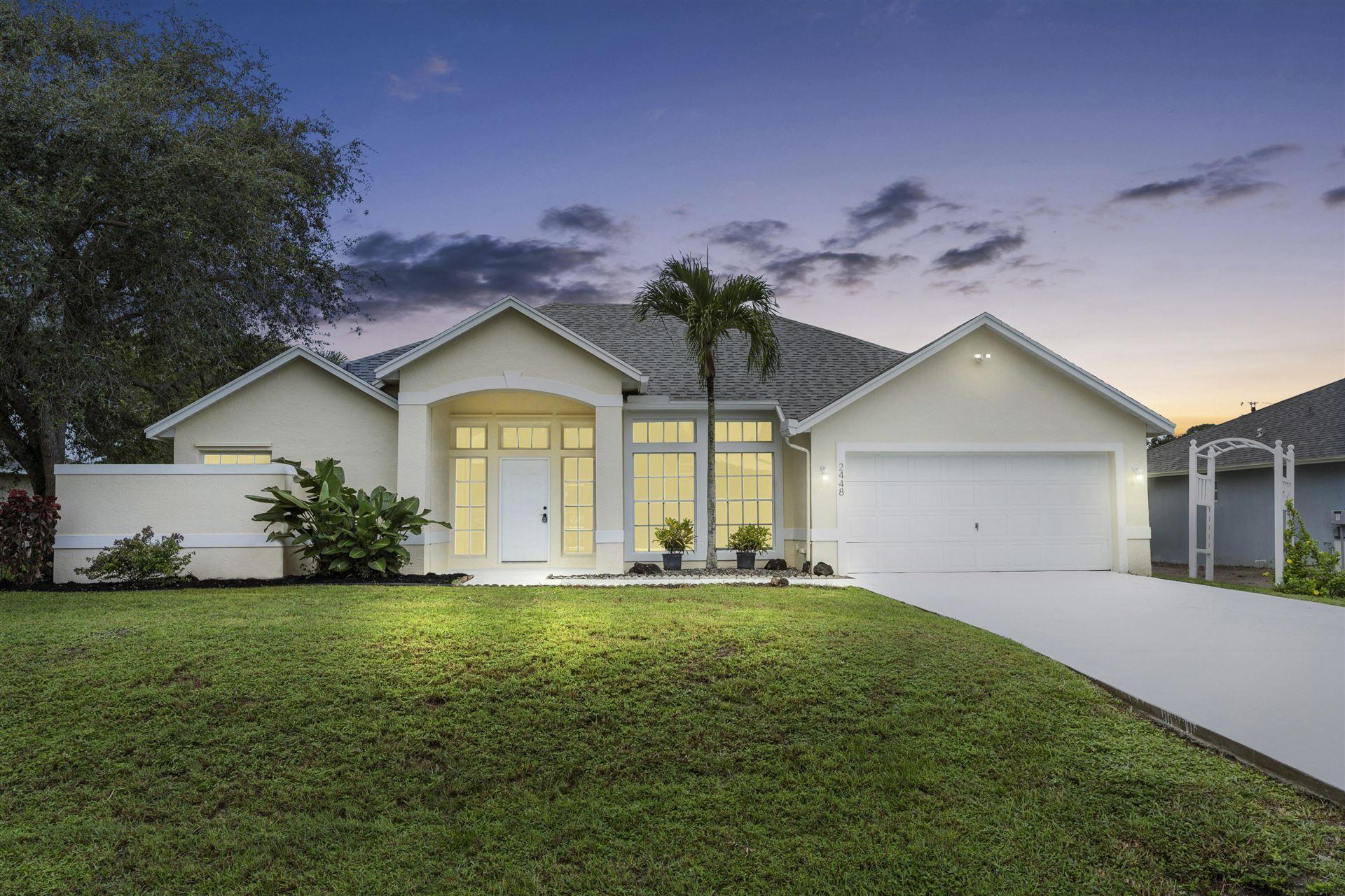 2448 SE Allen Street, Port Saint Lucie, FL 34984 - #: RX-10664957