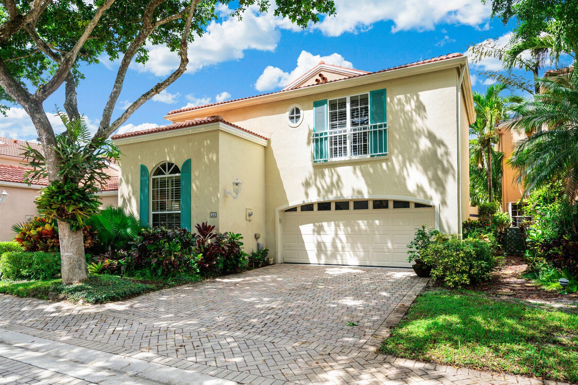 Photo of 52 Via Verona, Palm Beach Gardens, FL 33418 (MLS # RX-10747958)