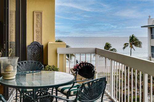 Photo of 330 S Ocean Boulevard #5b, Palm Beach, FL 33480 (MLS # RX-10685959)