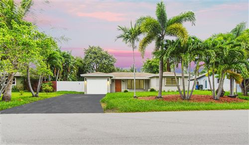 Photo of Listing MLS rx in 1585 NE 48th Court Oakland Park FL 33334