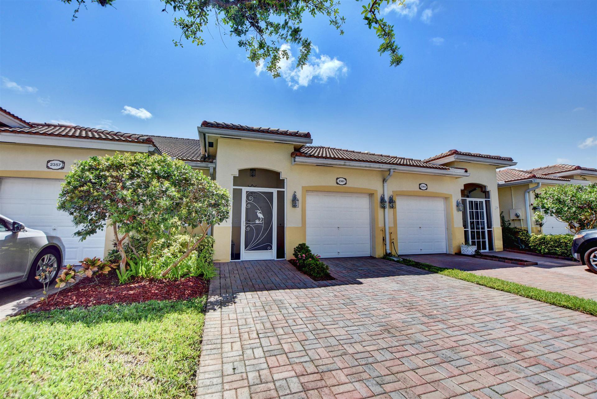 2361 Windjammer Way, West Palm Beach, FL 33411 - #: RX-10673961