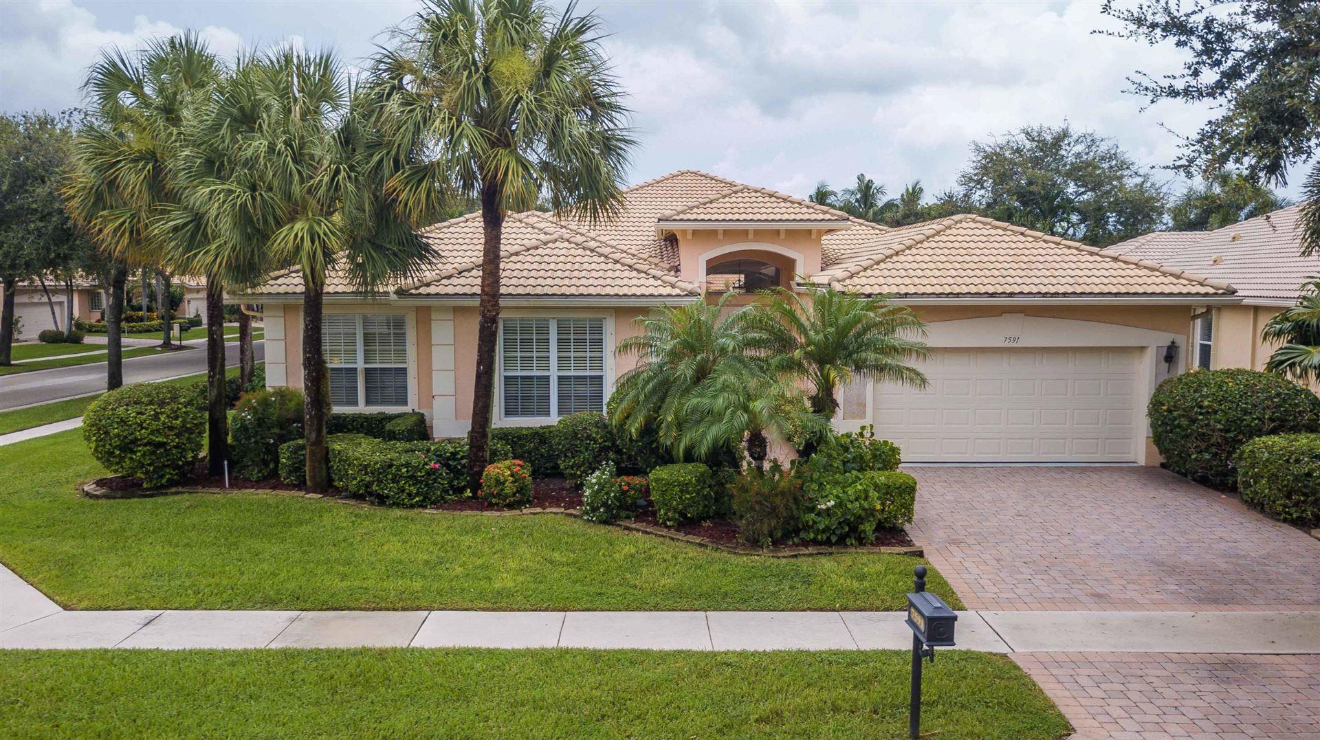 7591 Monticello Way, Boynton Beach, FL 33437 - #: RX-10641966