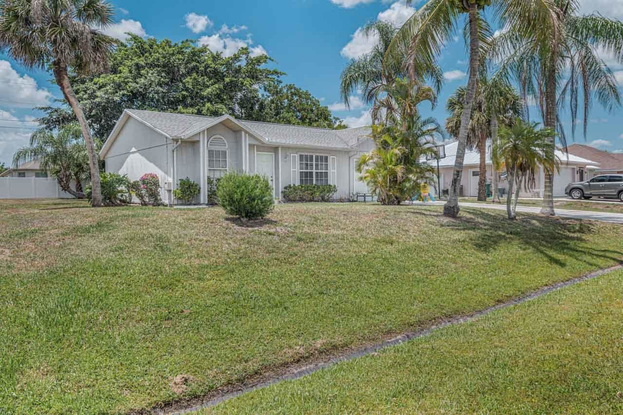 4534 SW Van Dyke Street, Port Saint Lucie, FL 34953 - MLS#: RX-10714966