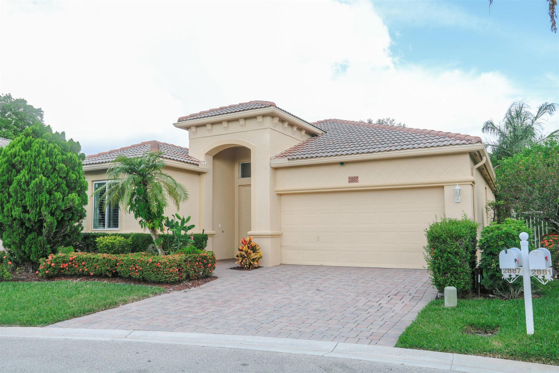 2887 N Bight, West Palm Beach, FL 33411 - #: RX-10722969