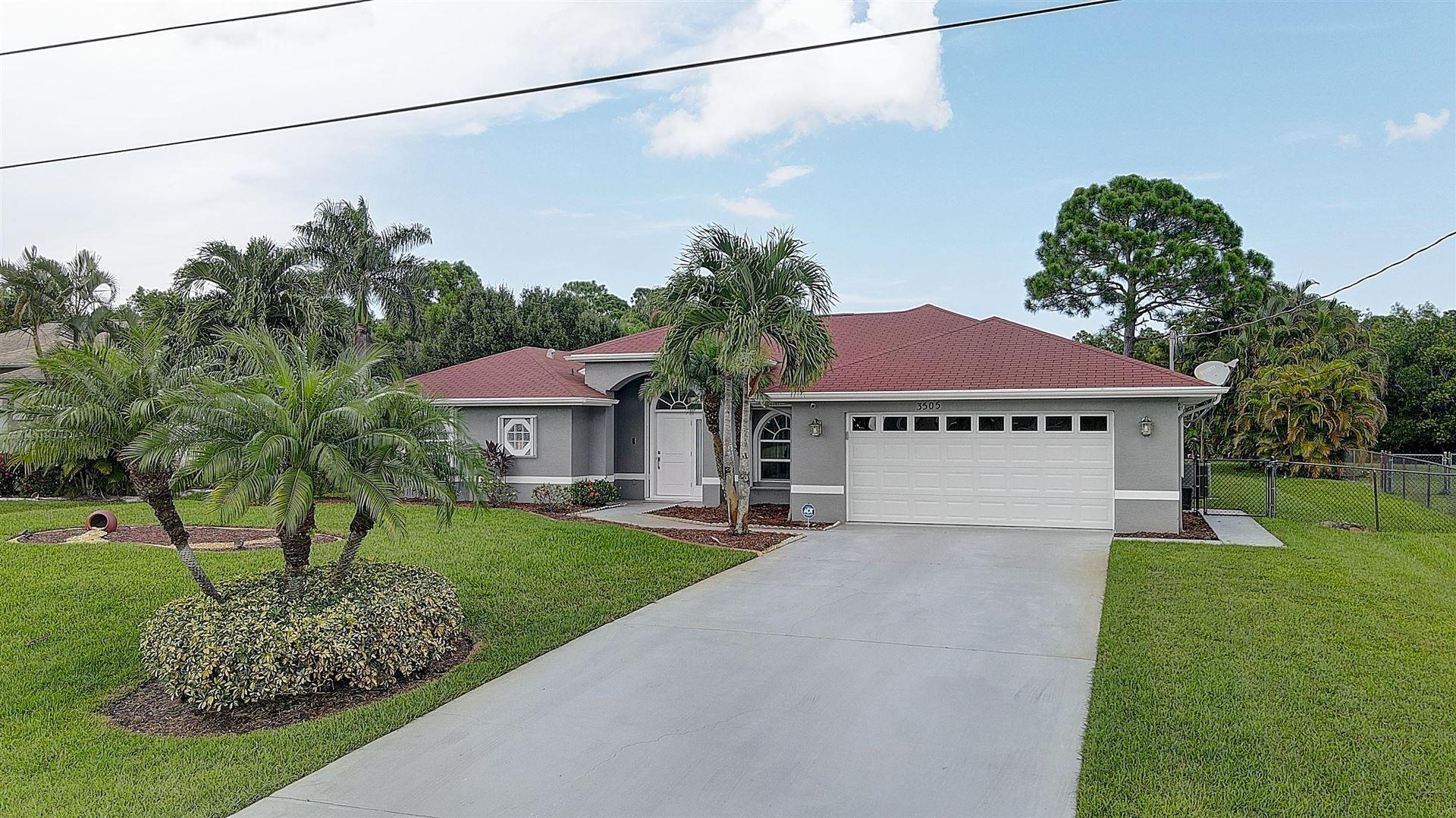 3505 SW Macon Road, Port Saint Lucie, FL 34953 - #: RX-10643971