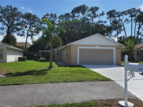 Photo of Listing MLS rx in 1240 Pine Sage Circle West Palm Beach FL 33409
