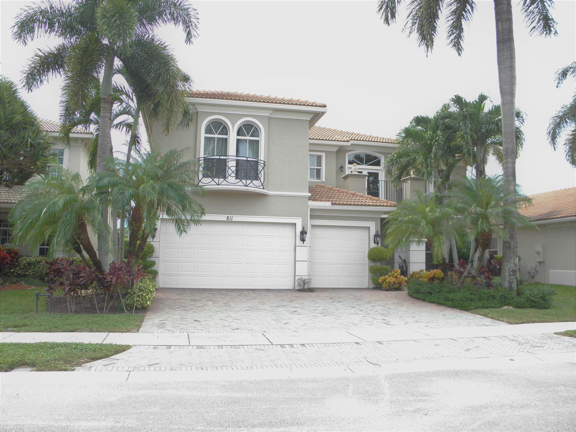 Photo of 811 Floret Drive, Palm Beach Gardens, FL 33410 (MLS # RX-10663973)