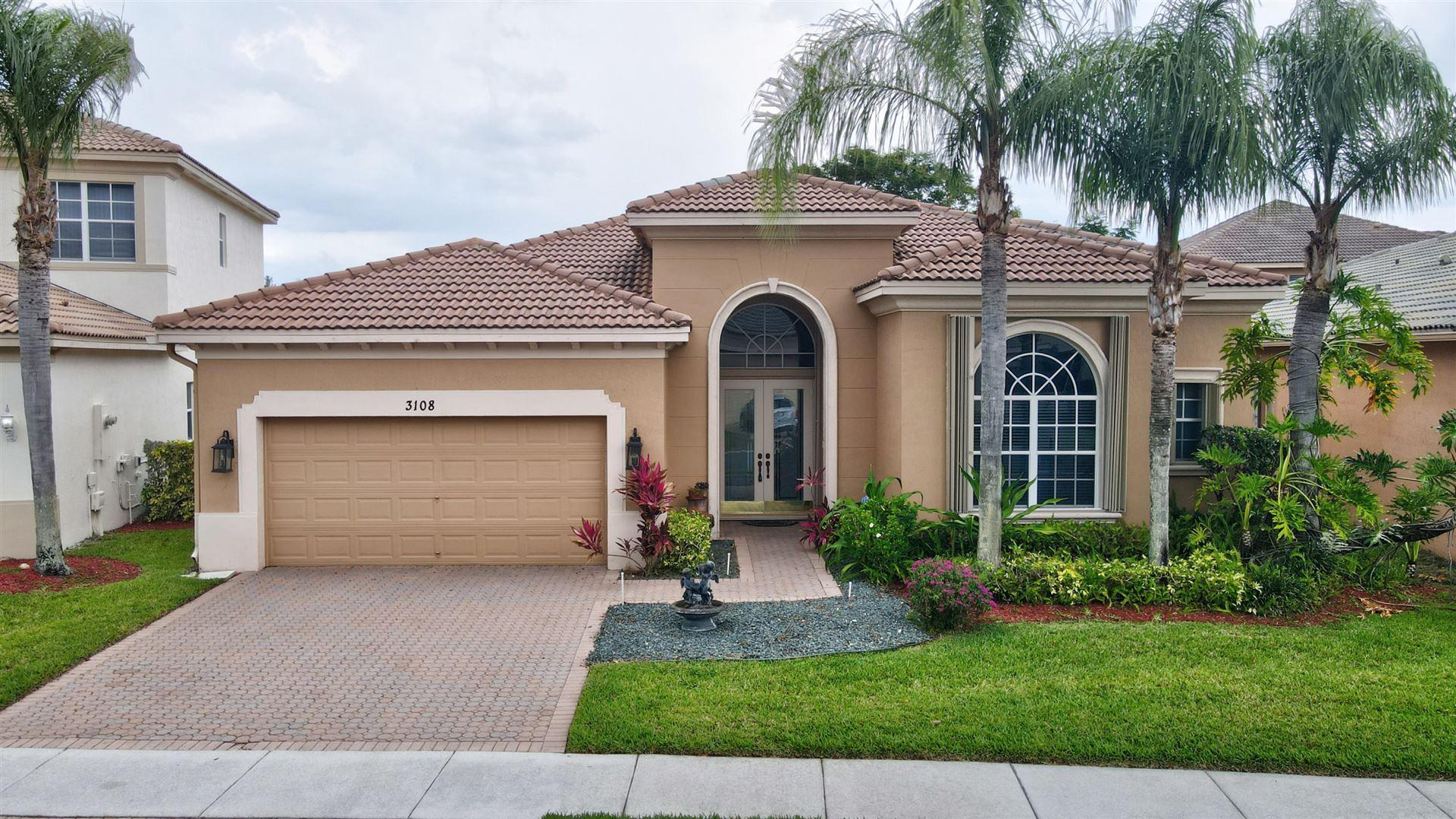 3108 Santa Margarita Road, West Palm Beach, FL 33411 - MLS#: RX-10712973
