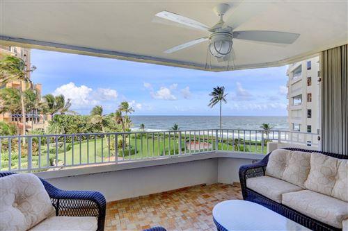 Photo of 500 S Ocean Boulevard #407, Boca Raton, FL 33432 (MLS # RX-10660975)