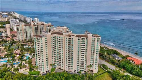 Photo of 3740 S Ocean Boulevard #401, Highland Beach, FL 33487 (MLS # RX-10684975)