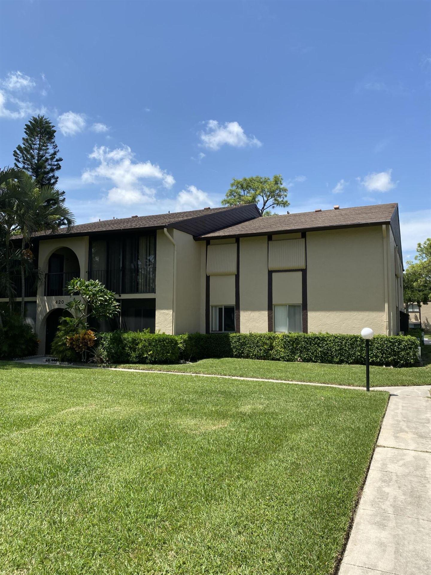 420 Pine Glen Lane #B2, Greenacres, FL 33463 - MLS#: RX-10744976