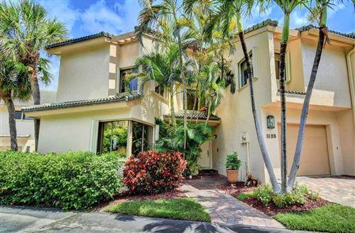 Photo of 1123 Boca Cove Lane #1, Highland Beach, FL 33487 (MLS # RX-10637977)