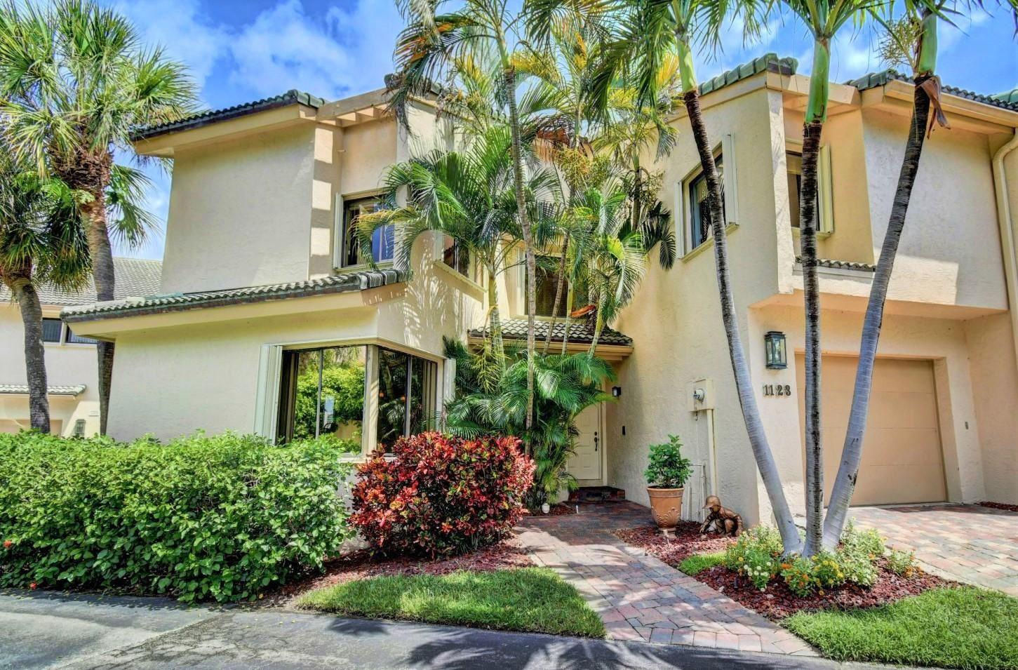 1123 Boca Cove Lane #1, Highland Beach, FL 33487 - #: RX-10637977