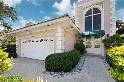 Photo of 7800 Travelers Tree Drive, Boca Raton, FL 33433 (MLS # RX-10680978)