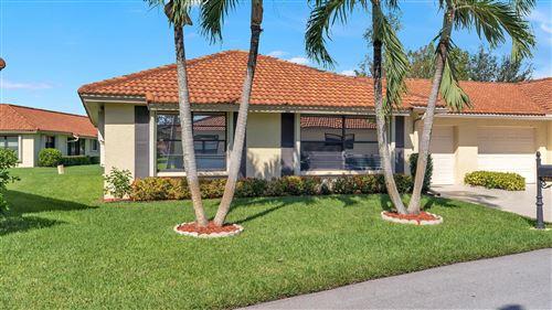 Photo of 9865 Clusia Tree Drive #A, Boynton Beach, FL 33436 (MLS # RX-10754978)