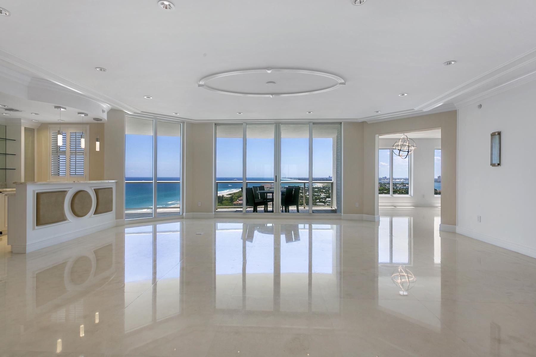 Photo of 2700 N Ocean Drive #1703a, Singer Island, FL 33404 (MLS # RX-10614979)