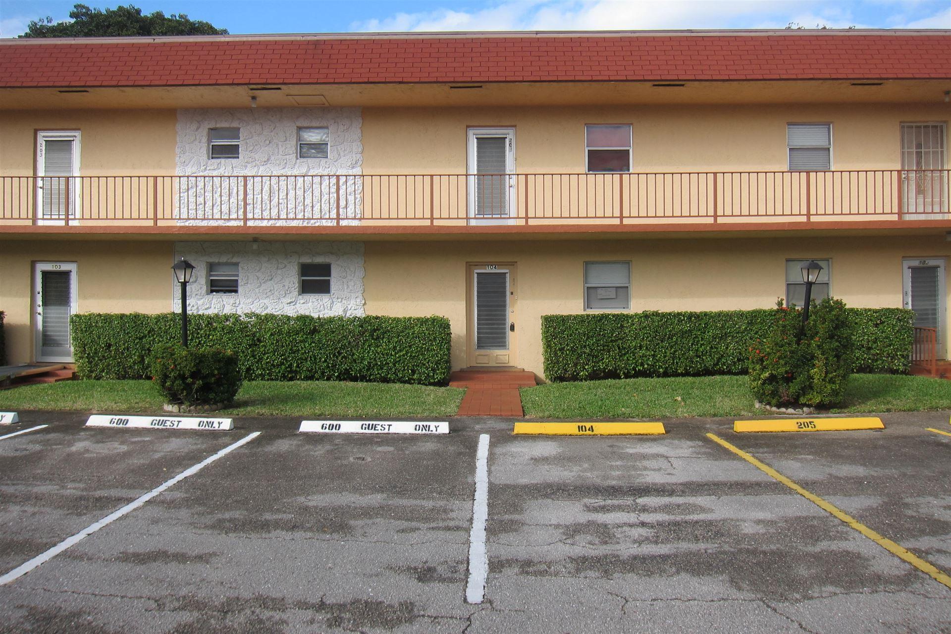 104 Oxford 600, West Palm Beach, FL 33417 - MLS#: RX-10682979
