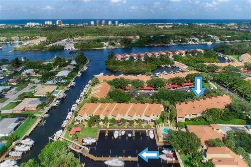 Photo of 2379 Treasure Isle Drive #Unit 26 Dock 29, Palm Beach Gardens, FL 33410 (MLS # RX-10619980)