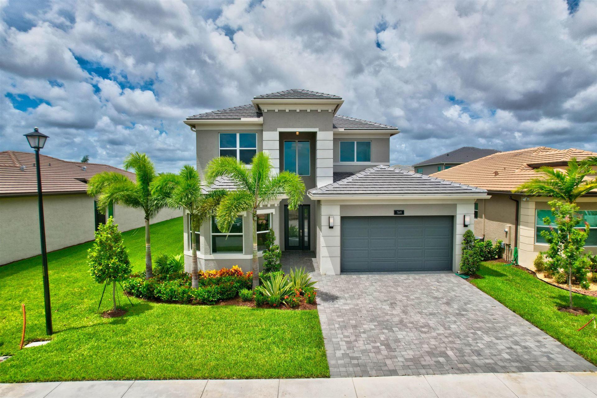 7649 Francisca Club Lane, Delray Beach, FL 33446 - #: RX-10738980