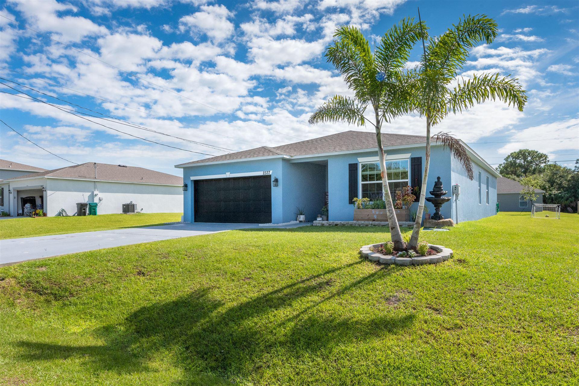 2337 SW Chateau Terrace, Port Saint Lucie, FL 34953 - MLS#: RX-10749980