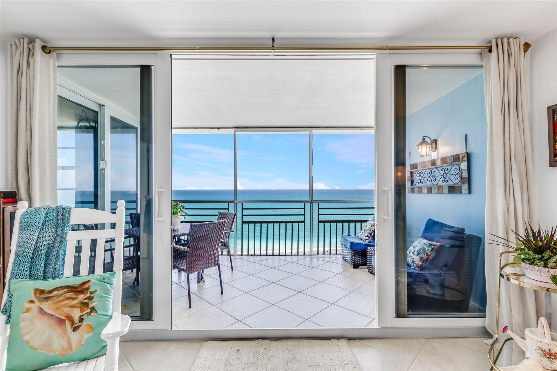 900 Ocean Drive #703, Juno Beach, FL 33408 - #: RX-10695981