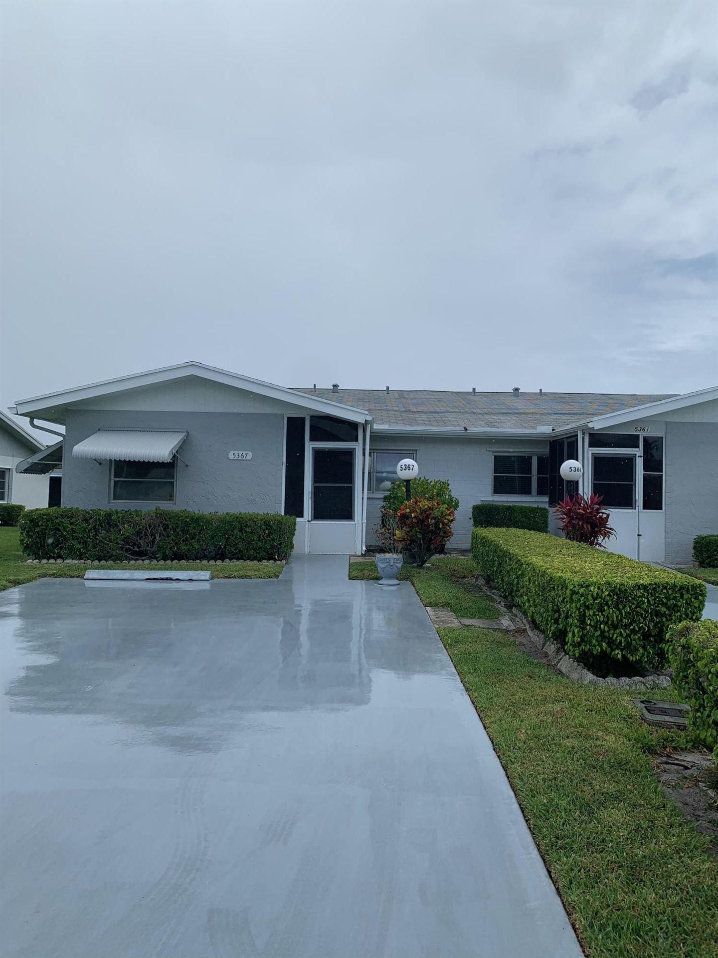 5367 Mariesa Avenue, West Palm Beach, FL 33417 - #: RX-10720981