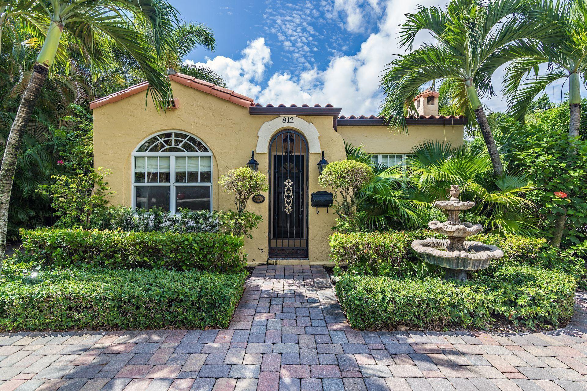 812 Park Place, West Palm Beach, FL 33401 - #: RX-10647984