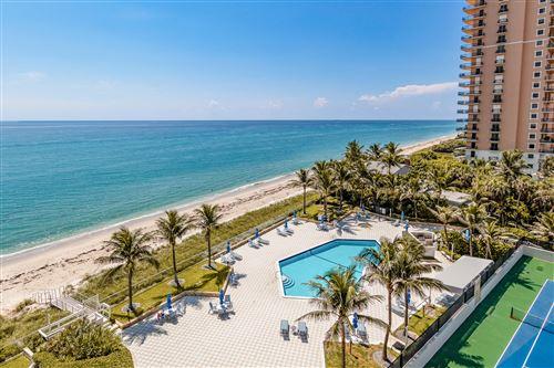 Photo of 5200 N Ocean Drive #704, Singer Island, FL 33404 (MLS # RX-10747986)