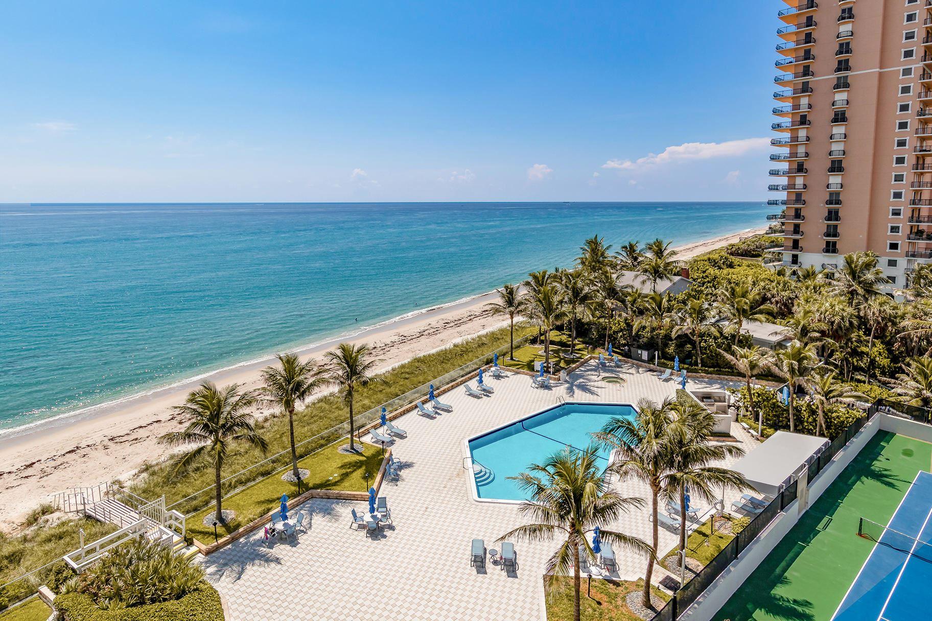 Photo for 5200 N Ocean Drive #704, Singer Island, FL 33404 (MLS # RX-10747986)