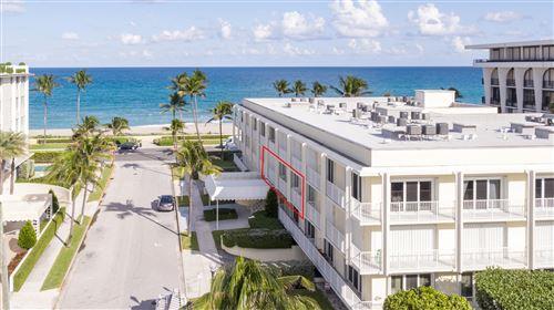 Foto de inmueble con direccion 350 S Ocean Boulevard #205 Palm Beach FL 33480 con MLS RX-10663989