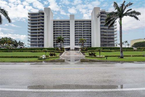 Photo of 2727 S Ocean Boulevard #804, Highland Beach, FL 33487 (MLS # RX-10671990)