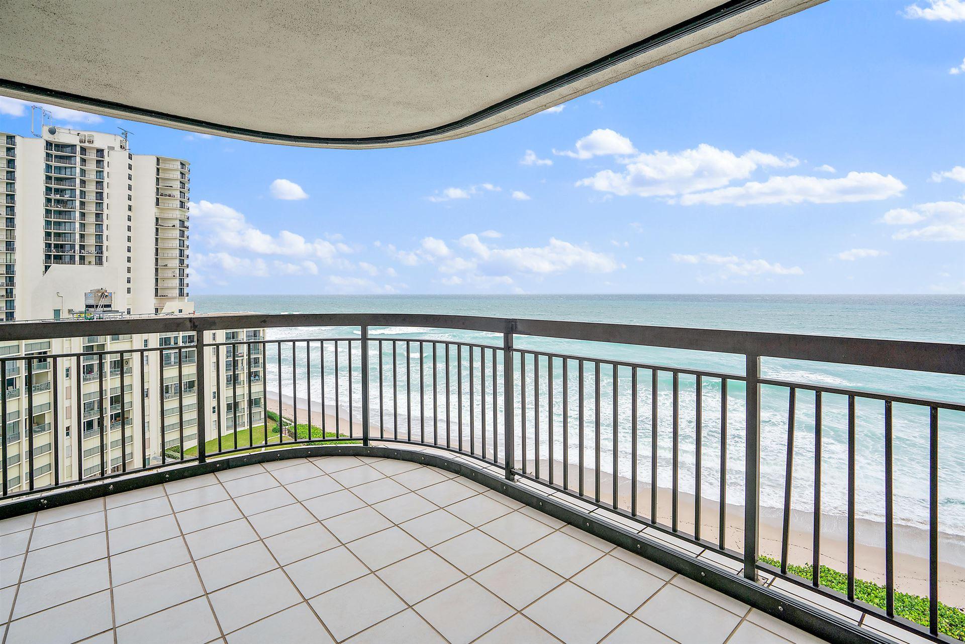 Photo of 5380 N Ocean Drive #11-J, Singer Island, FL 33404 (MLS # RX-10668991)