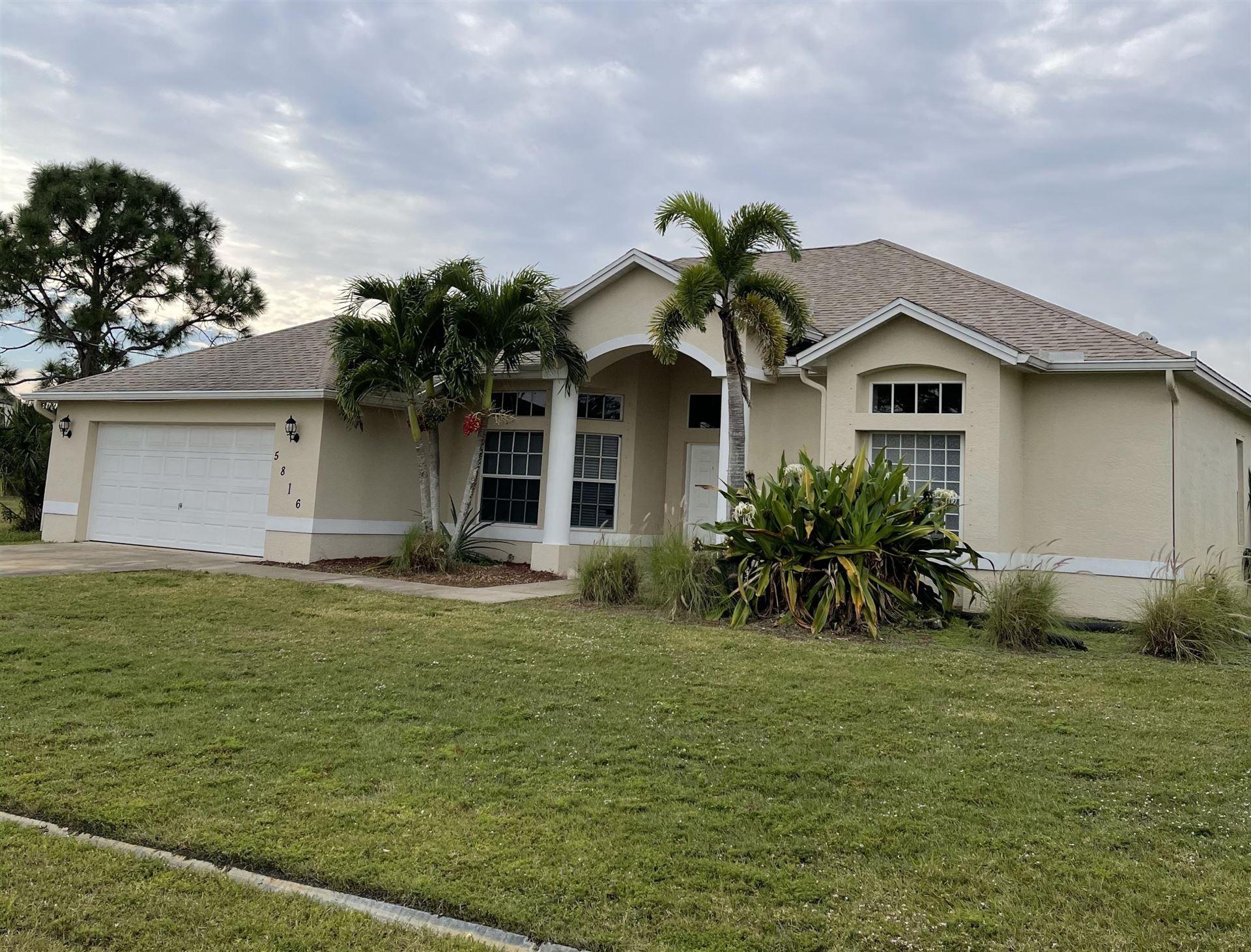 5816 NW Coosa Drive, Port Saint Lucie, FL 34986 - #: RX-10683991