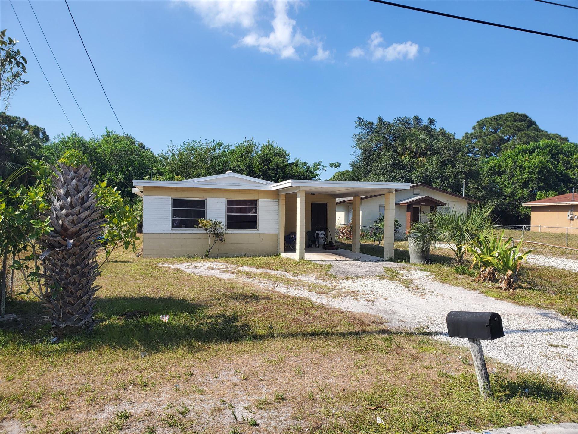 2514 Avenue I, Fort Pierce, FL 34947 - MLS#: RX-10719991