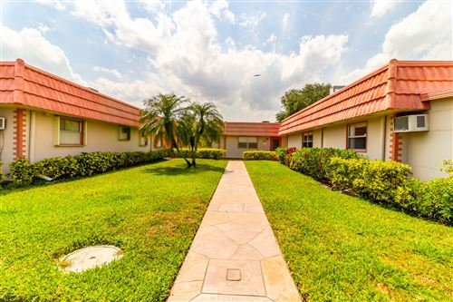 Photo of 350 Seville O, Delray Beach, FL 33446 (MLS # RX-10708992)