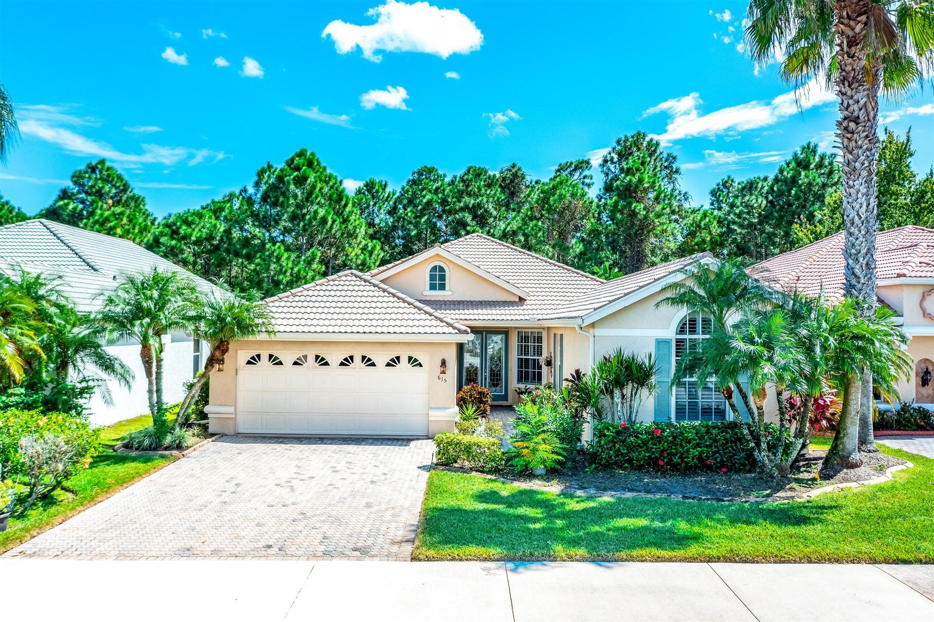 615 SW Lake Charles Circle, Port Saint Lucie, FL 34986 - #: RX-10750992