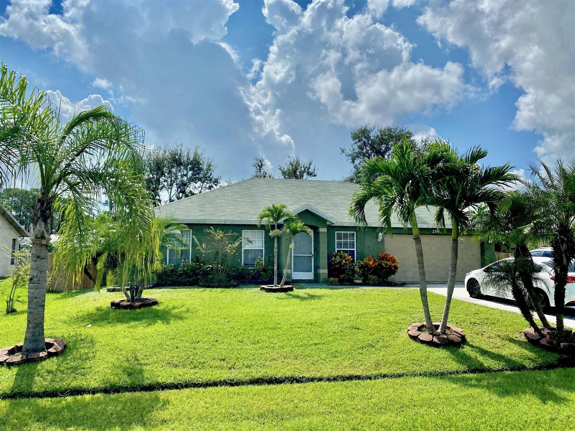 230 SW Parish Terrace, Port Saint Lucie, FL 34984 - #: RX-10657993