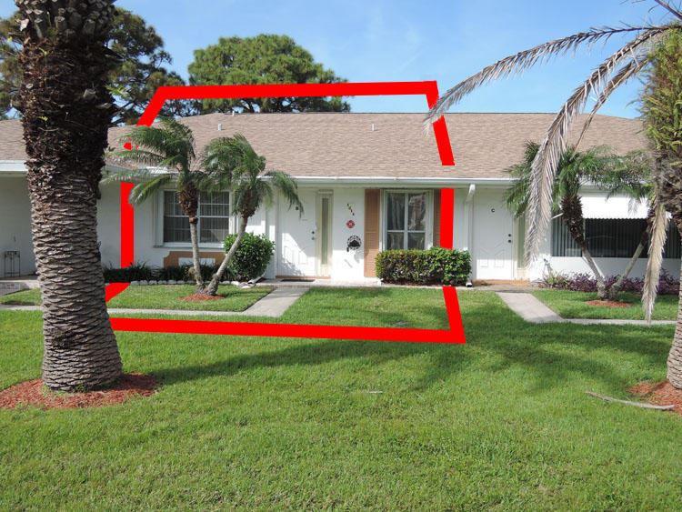 Photo of 1214 S Lakes End Drive #Apt B, Fort Pierce, FL 34982 (MLS # RX-10698994)