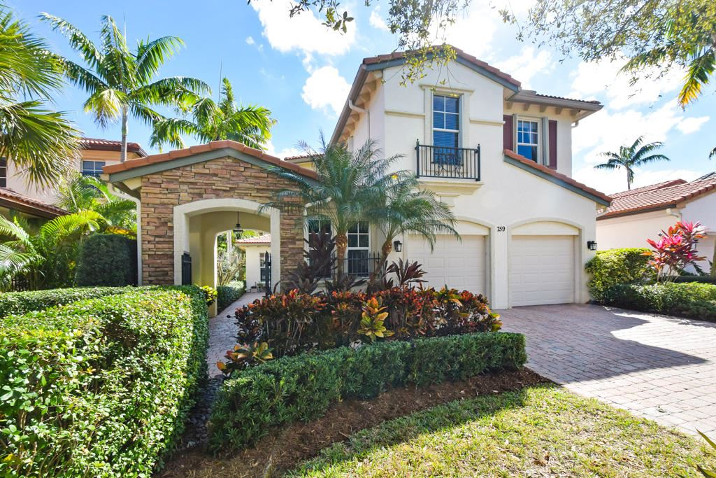 759 Bocce Court, Palm Beach Gardens, FL 33410 - #: RX-10709994