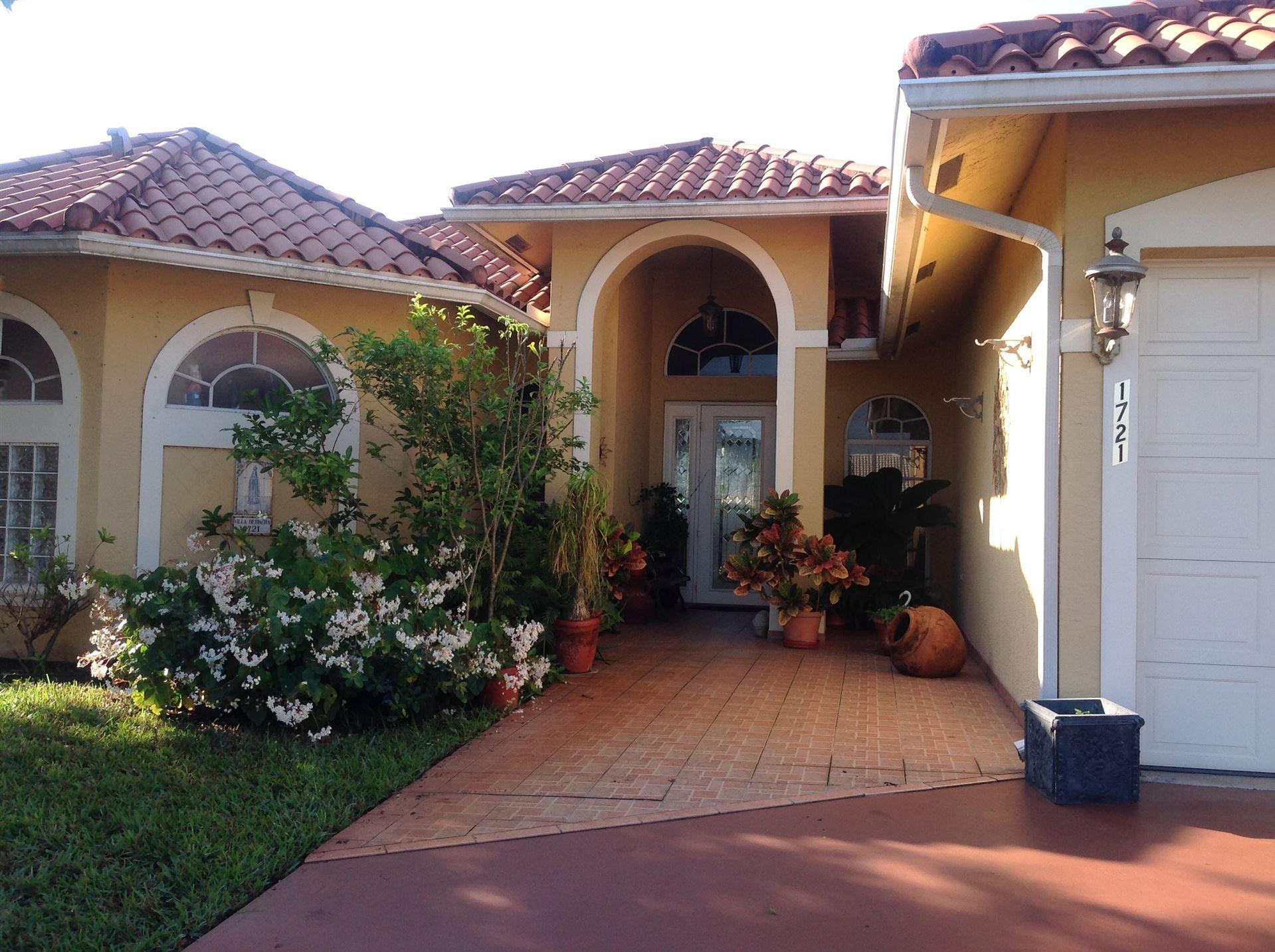 1721 Pierce Drive, Lake Worth, FL 33460 - #: RX-10686998