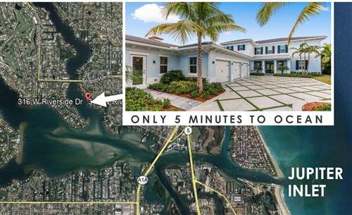 Tiny photo for 316 W Riverside Drive, Jupiter, FL 33469 (MLS # RX-10695999)