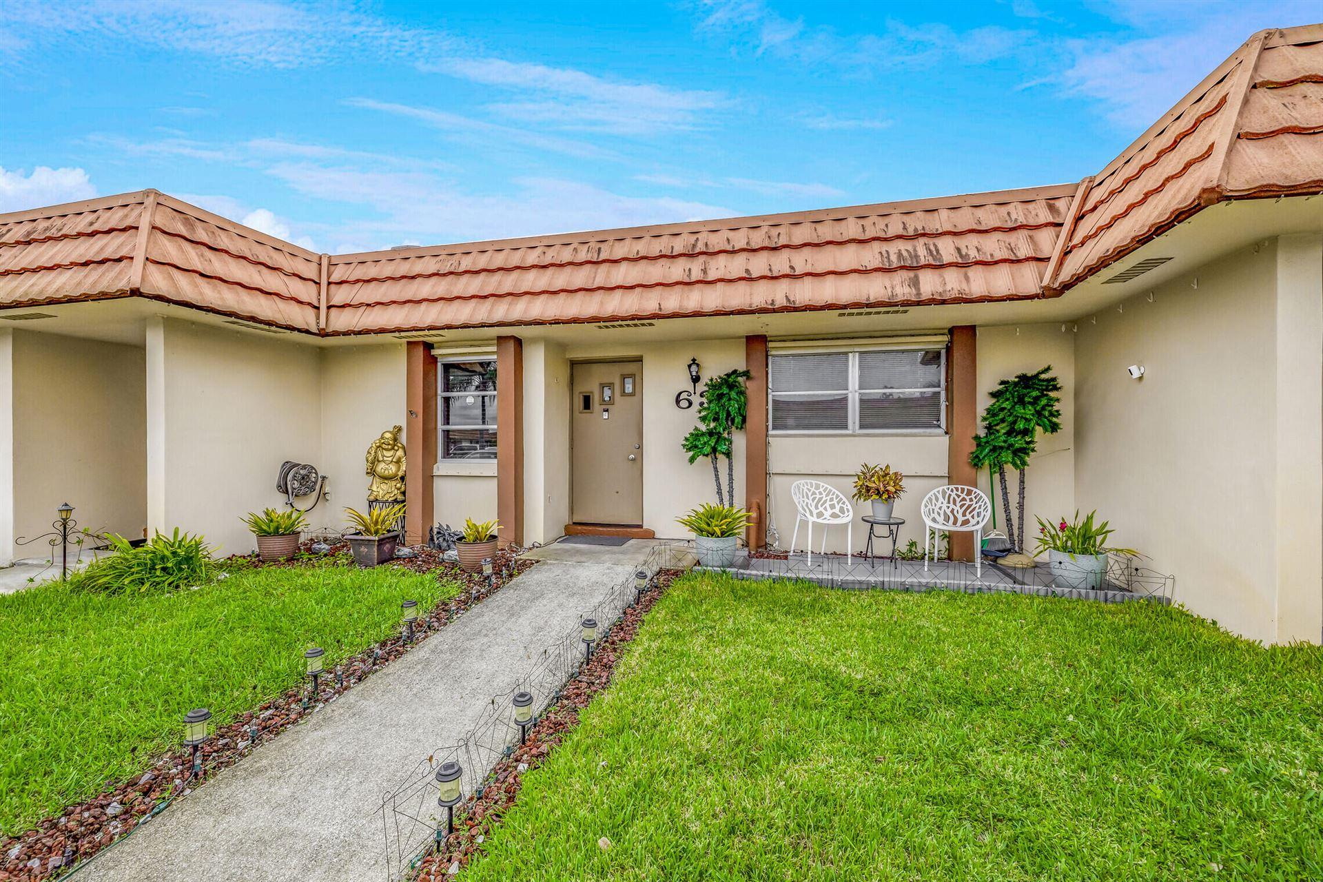5730 Fernley Drive E #63, West Palm Beach, FL 33415 - MLS#: RX-10735999