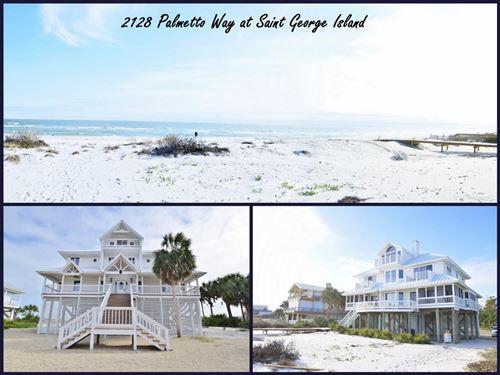 Photo of 2128 PALMETTO WAY, Saint George Island, FL 32328 (MLS # 304824)