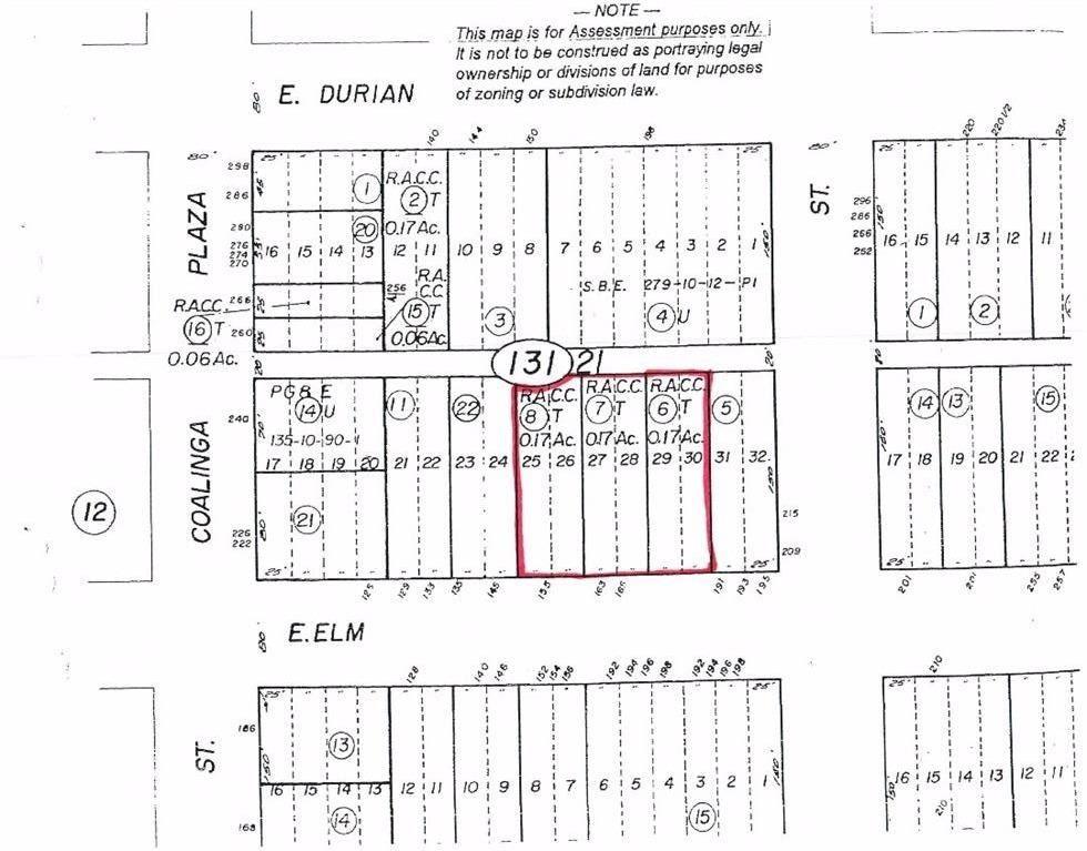 163 E Elm Street, Coalinga, CA 93210 - MLS#: 458795